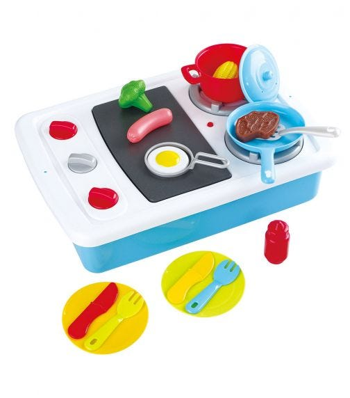 PLAYGO 2 In 1 Cooking Stove Set Bo 21 Pieces