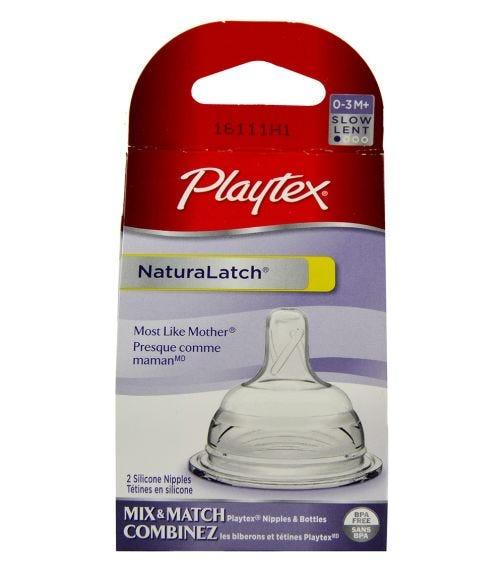 PLAYTEX Naturalatch Nipple Slow Flow 2 Pack