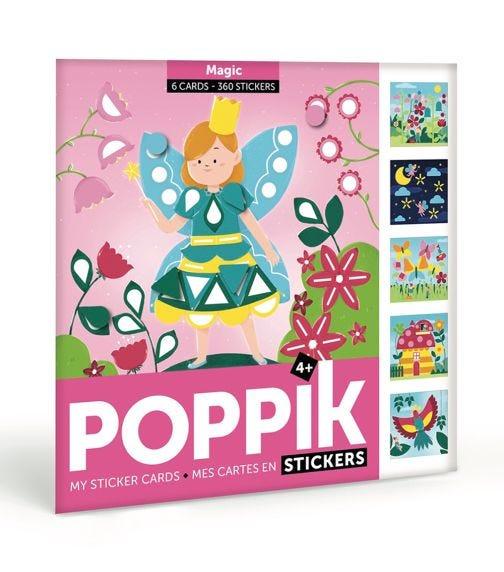 POPPIK My Sticker Cards Magic