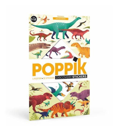 POPPIK Sticker Poster Discovery Dino