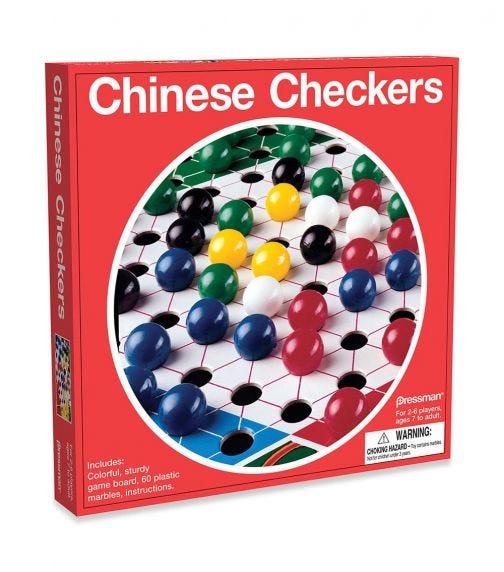 PRESSMAN Toy Checkers In Box For 2 Players