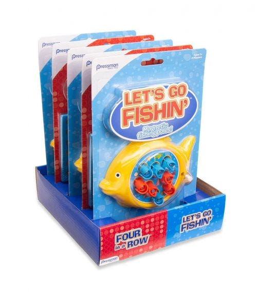 PRESSMAN Mini Classics Lets Go Fishin