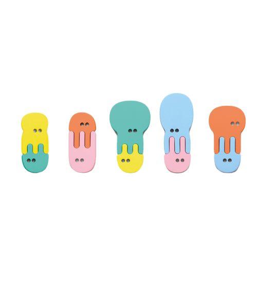 QUUT Quutopia Bath Stickers Jellyfish