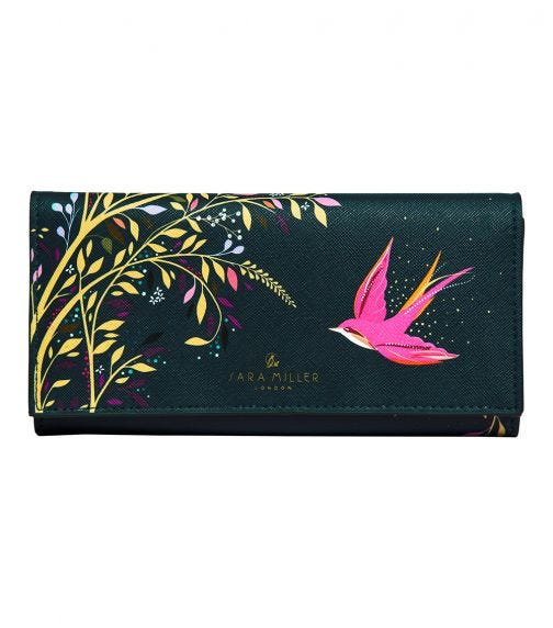 SARA MILLER Swallow Travel Jewelry Pouch
