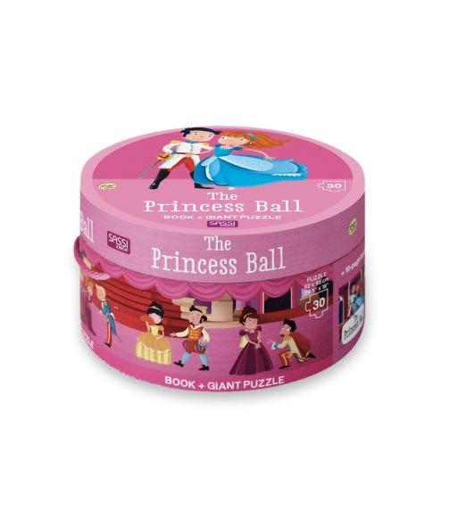 SASSI Book N Giant Puzzle Box Princess Ball