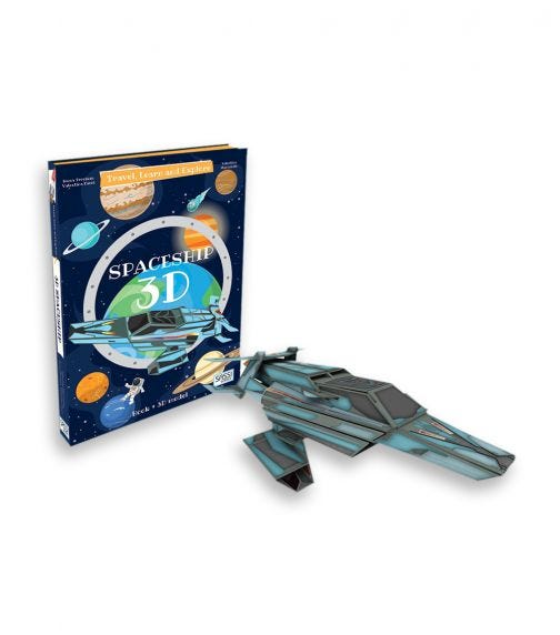 SASSI Travel Learn And Explore 3D Spaceship