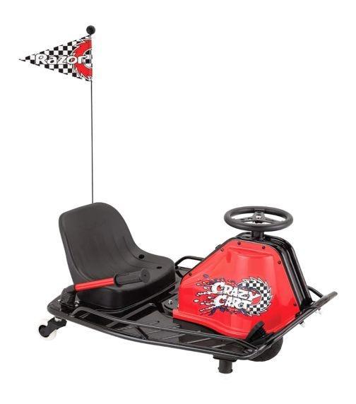 RAZOR Crazy Cart Red Jr 20-19  Km/Hr