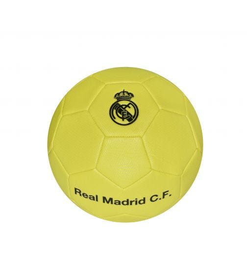 REAL MADRID Football Size 5 - Lime