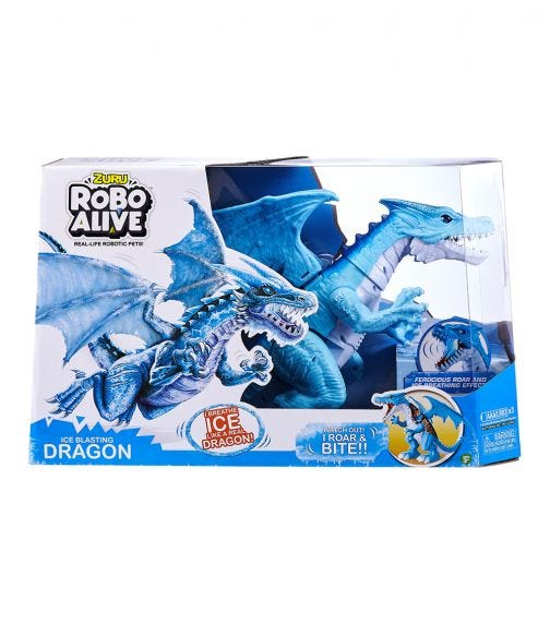 ROBO ALIVE Zuru Robotic Dragon Series 1 Assorted