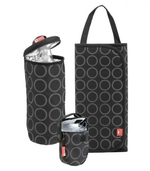 RYCO 3 Piece Travel Set Bottle Holder Changing Mat And A Pacifier Holder