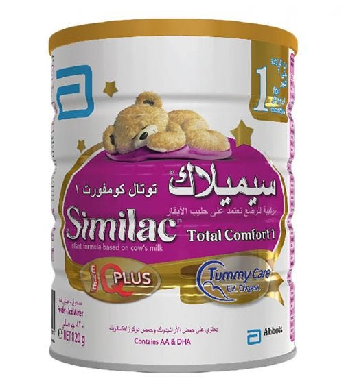 SIMILAC Total Comfort Stage-1 820 G