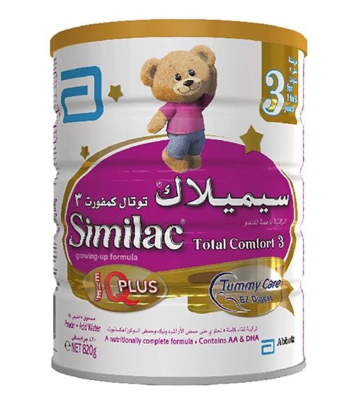 SIMILAC Total Comfort Stage-3 820 G