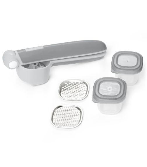 SKIP HOP Easy-Prep Food Press Set Grey