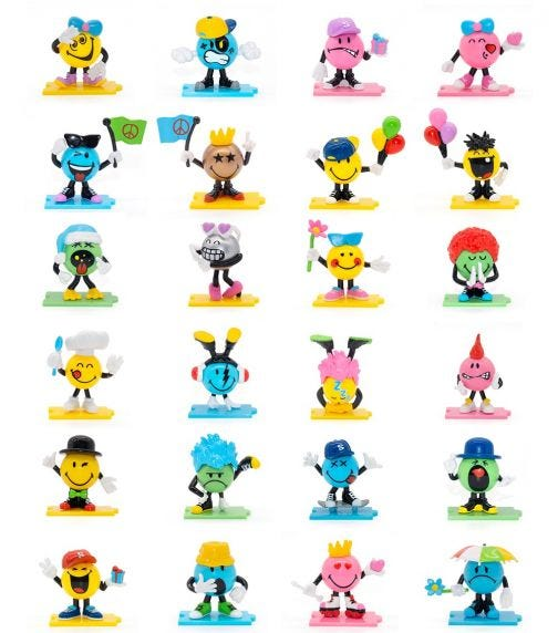 SMILEYS Characters S1 Blind Bags 24 Piece CDU