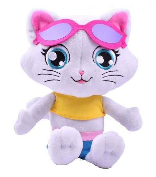SMOBY 44 Cats Musical Plush Milady