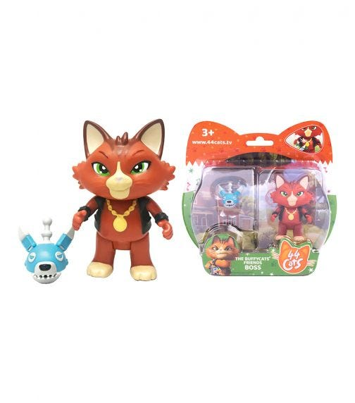 SMOBY 44 Cats Fig Boss Dog Robot