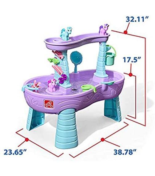 STEP 2 Rain Showers & Unicorn Water Table Kraft
