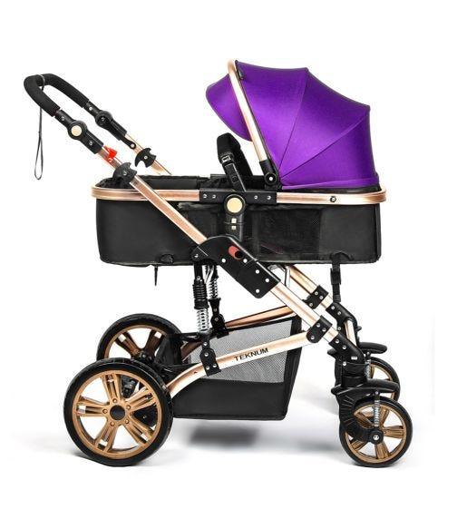 TEKNUM 3 In 1 Pram Stroller - Peppy Purple