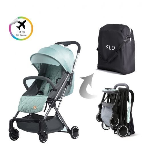 TEKNUM Travel Lite Stroller - Peppermint