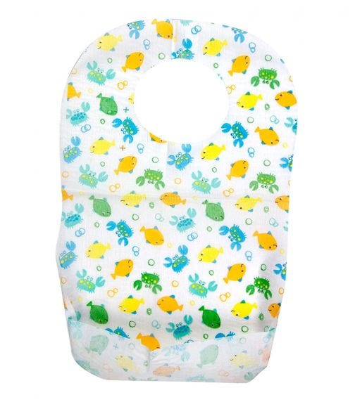 SUMMER INFANT Keep Me Clean Disposable Bibs (20 Pack)