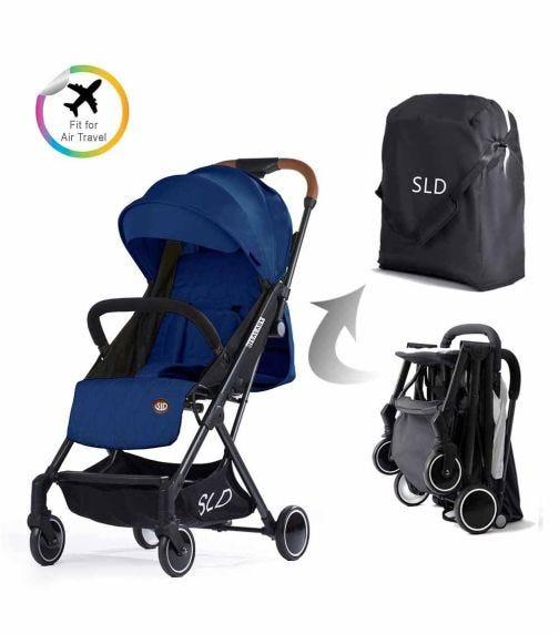 TEKNUM Travel Lite Stroller - Navy Blue