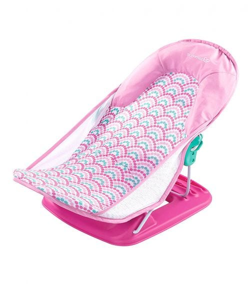 SUMMER INFANT Deluxe Baby Bather Bubble Waves