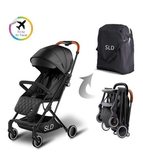 TEKNUM Travel Lite Stroller - Black