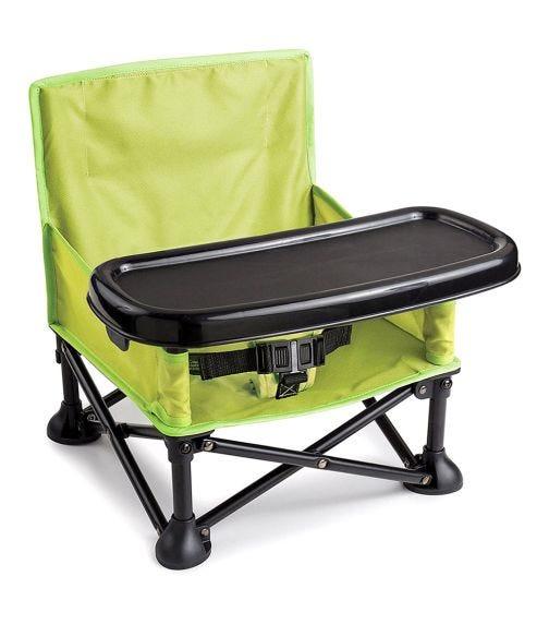 SUMMER INFANT Pop 'N Sit Portable Booster Green
