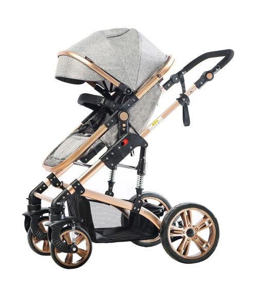 TEKNUM 3 In 1 Pram Stroller - Grey