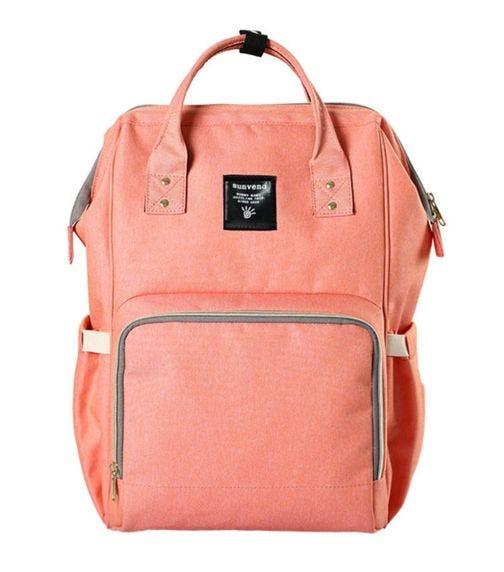 SUNVENO Diaper Bag - Peach