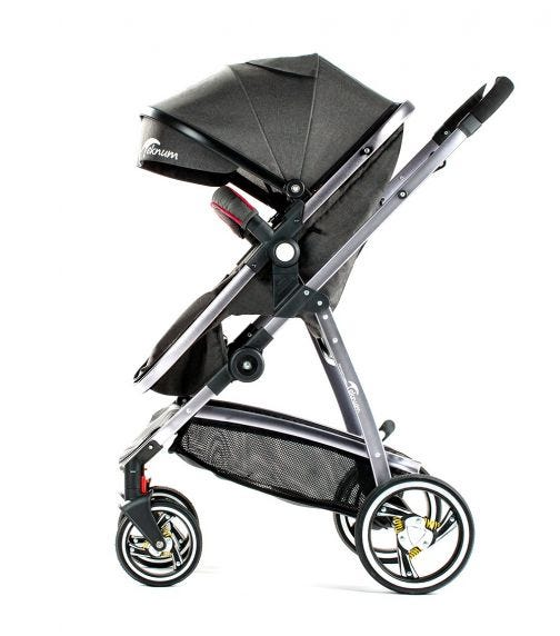 TEKNUM 3In1 Premium Pram Stroller - Grey