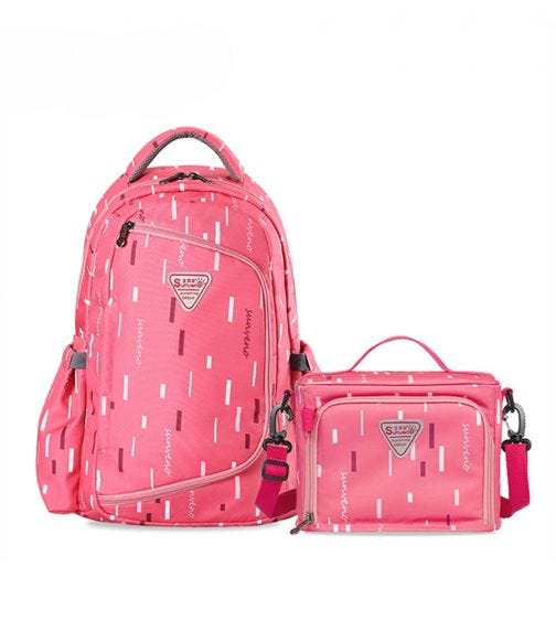 SUNVENO - 2 In 1 Diaper Bags - Pink
