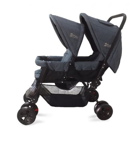 TEKNUM Story By Teknum Double Baby Stroller