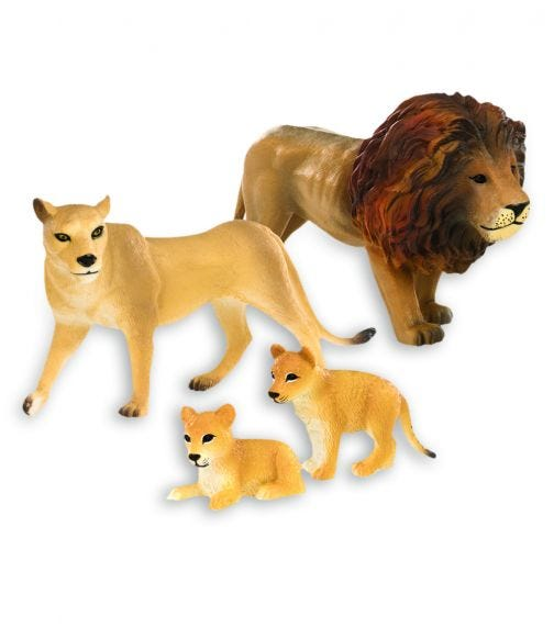 TERRA AND B TOYS Lion Family