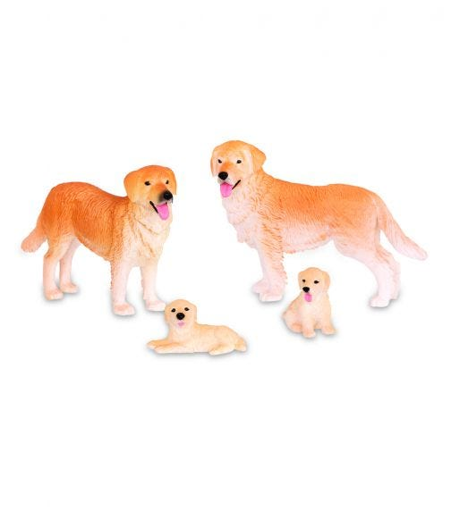 TERRA AND B TOYS Dog Family