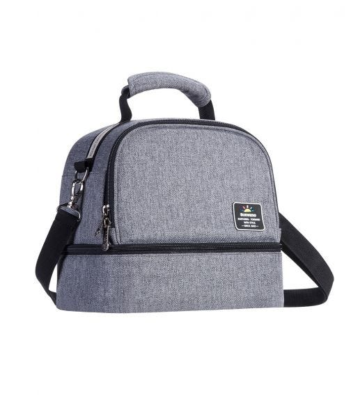 SUNVENO Insulated Bottle/Lunch Bag - Grey
