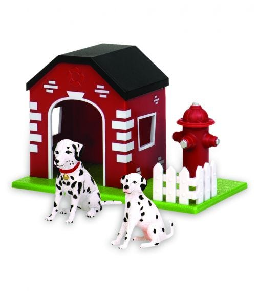 TERRA AND B TOYS Dogs In House Hydrant