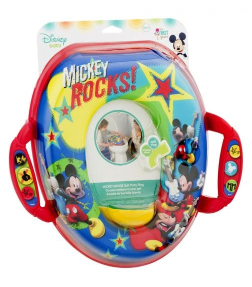 THE FIRST YEARS Mickey Non Sound Potty Ring