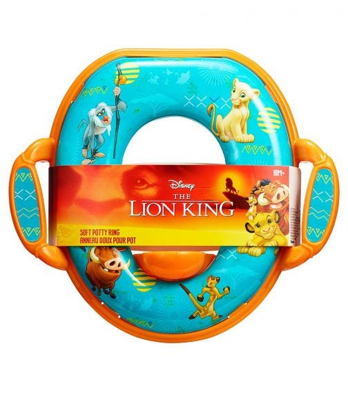 THE FIRST YEARS Lion King Potty Ring PDQ