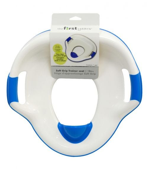 THE FIRST YEARS Soft Grip Trainer Seat Blue