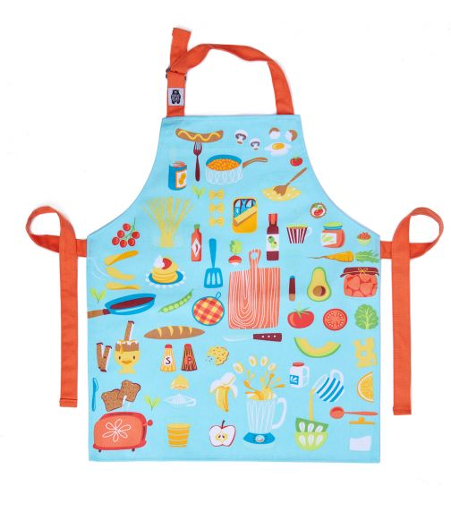 THREADBEAR DESIGN Lets Cook Cotton Apron