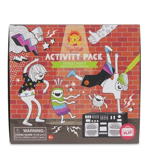 TIGER TRIBE Activity Pack Street Party