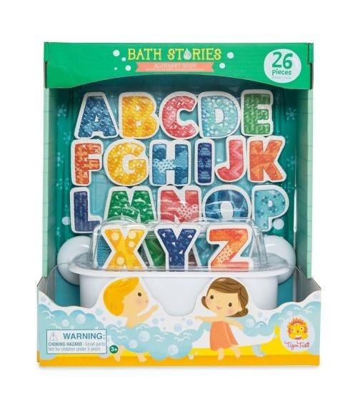 TIGER TRIBE Bath Stories Alphabet Soup