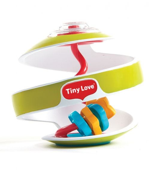 TINY LOVE Inspiral Swirling Ball Green