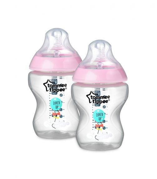 TOMMEE TIPPEE Closer To Nature Feeding Bottle 340 ML X 1 Blue
