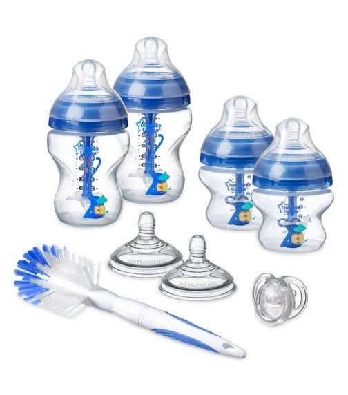 TOMMEE TIPPEE Advanced Anti-colic Starter Bottle Kit Boy