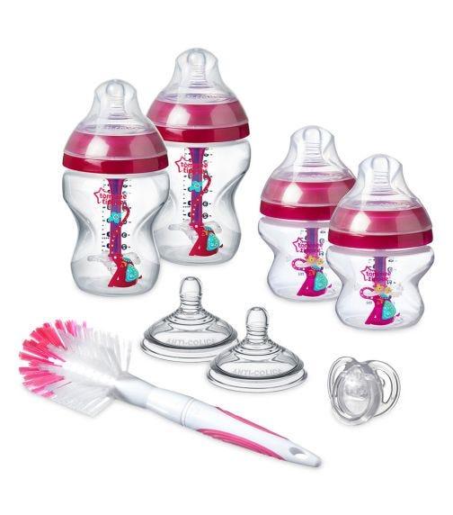 TOMMEE TIPPEE Advanced Anti-colic Starter Bottle Kit Girl