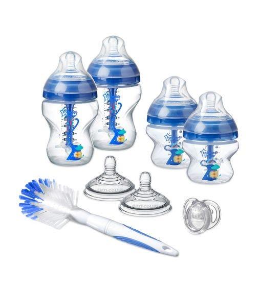 TOMMEE TIPPEE Closer To Nature Feeding Bottle Kit Starter Set Blue