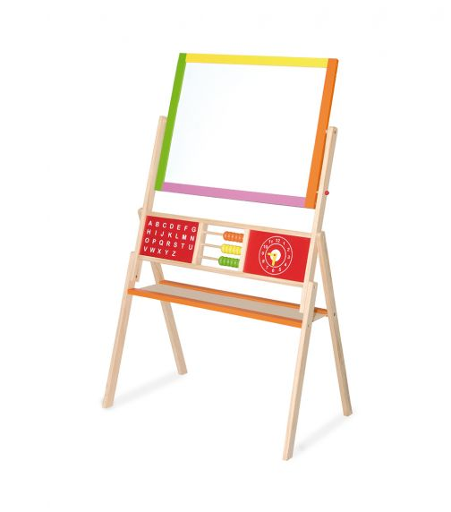VIGA Standing 2In1 Easel With Abacus