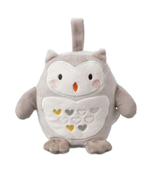 TOMMEE TIPPEE Ollie The Owl Rechargeable Light And Sound Sleep Aid